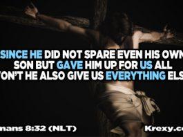 Bible Quotes Romans 8:32