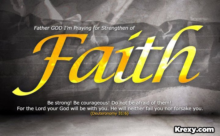 Faith quotes deuteronomy 31