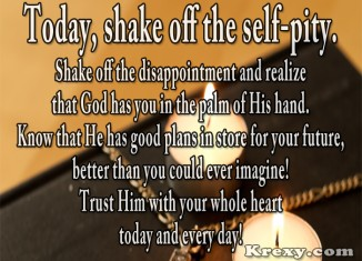 inspirational faith quotes shake off krexy