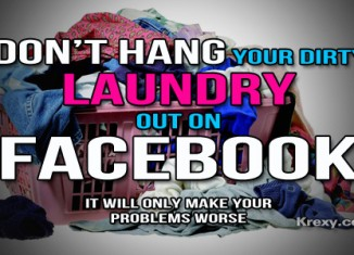 Facebook Quotes Dirty Laundry
