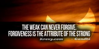 Forgiveness Quotes Gandhi