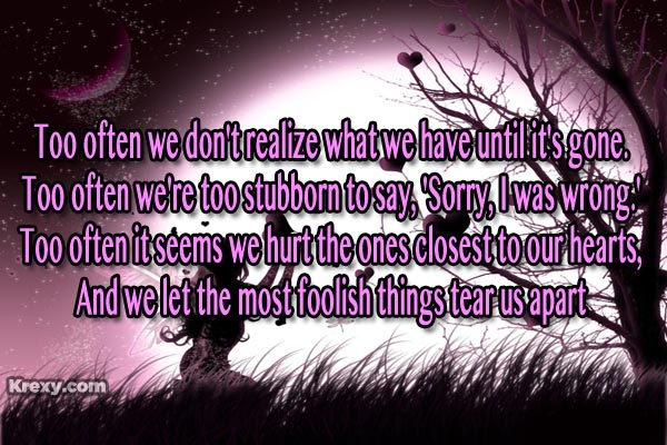 Quotes About Love Gone Wrong : Quotes+of+Love+Gone+Wrong gone wrong love quotes Quotes