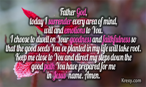 Todays Prayer Quotes Gorgeous Prayer Quotes  Goodness And Faithfulness Seeds  Krexy Living