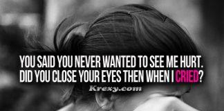 Sad Quotes Cry