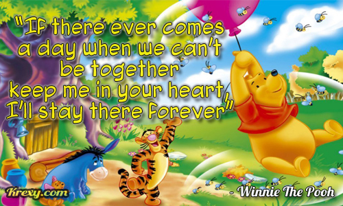 Winnie The Pooh Quote Your Heart
