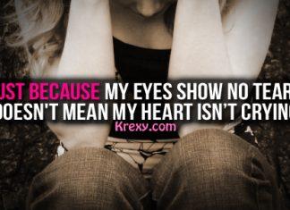 Sad Quotes Crying