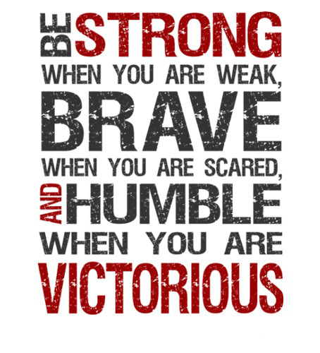 Be Strong Inspirational Quotes