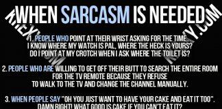Sarcasm Quotes