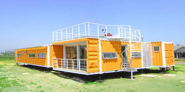Yellow container house