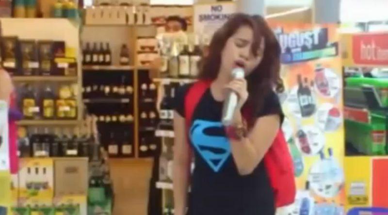 Amazing Karaoke Singer