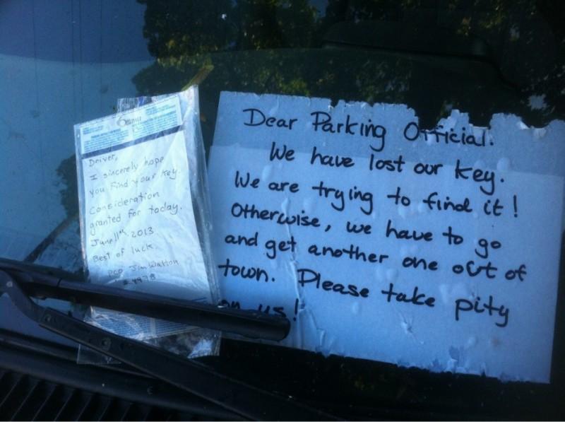 Parking Officer