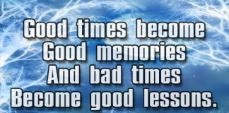 Wisdom Quotes good times krexy