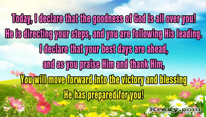 motivational quotes the goodness of god is all over you
