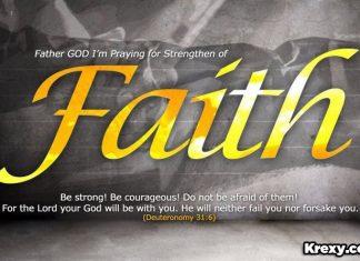 Faith quotes deuteronomy 31