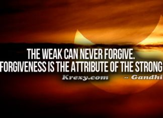 Forgiveness Quotes Gandhi