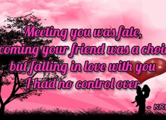 Love Quotes Fate