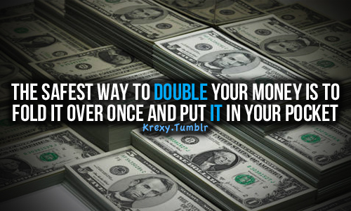 Best way to double your money gambling