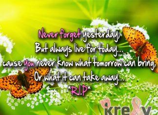 Rip Quotes Poem